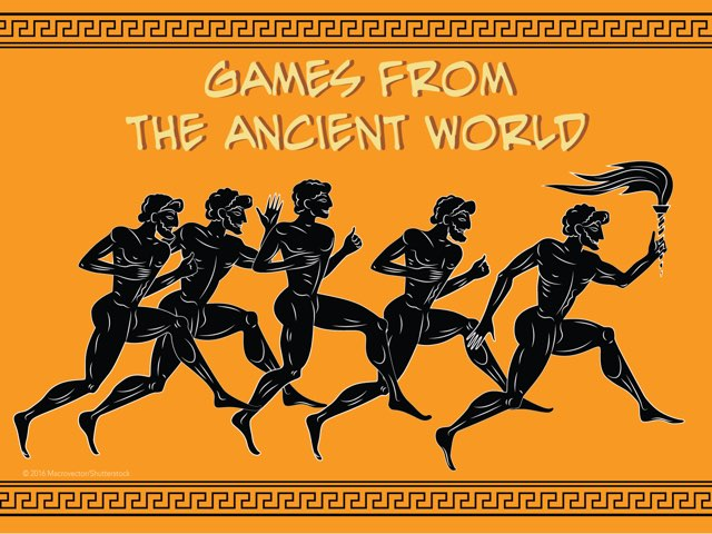 Games From The Ancient World  by Lily Lamb