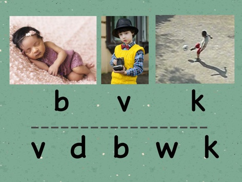 SHC Letter Sound Practice for Group 1, 2, and 3 Letters in ABC EnglishFor  b c d f g h (2) by Sara Anderson