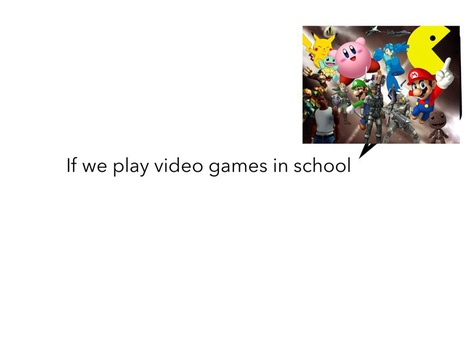 Should Video Game Be Used In School? by Paola