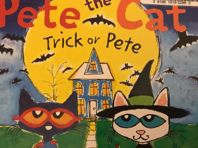 Pete The Cat Trick Or Pete by Lori Board