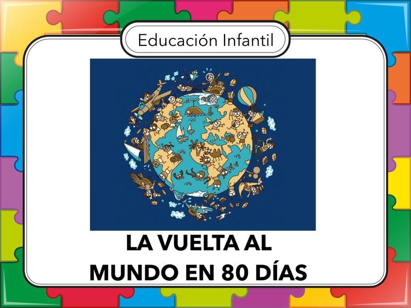 LA VUELTA AL MUNDO  by Miguel de Cervantes