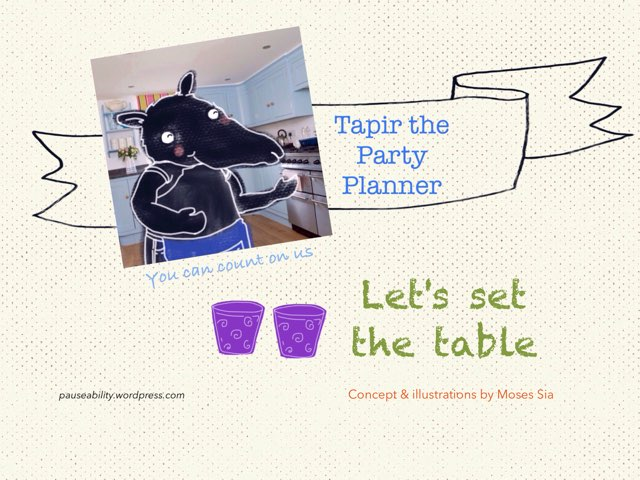 Set The Table by Moses Sia