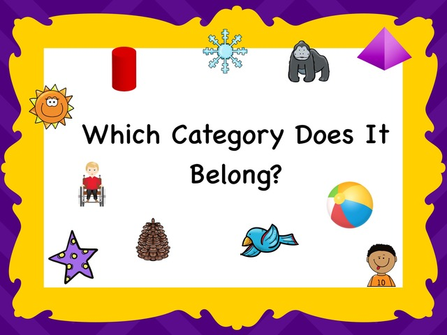 Which Category Does It Belong? by Kathy Gordon