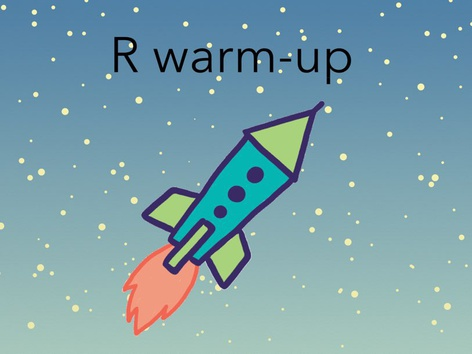 R Warm Ups by Maegan Moss