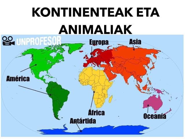 KONTINENTEAK ETA ANIMALIAK 2B by Sara Martinez De Arrieta