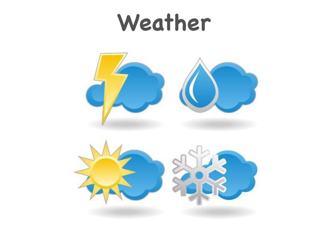 ESL Weather by Teeny Tiny TEFL