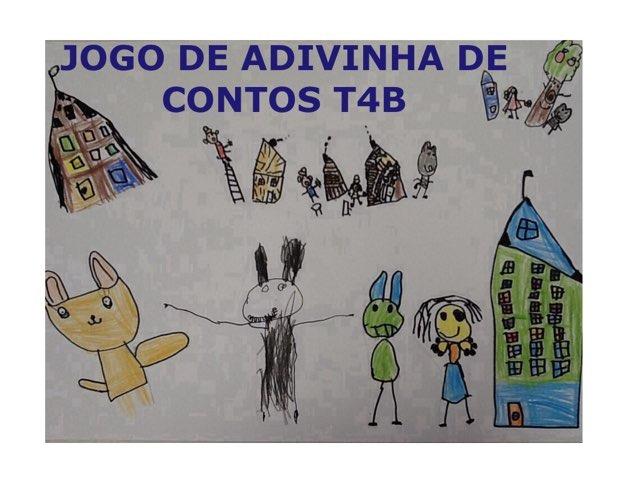JOGO DE ADIVINHA DE CONTOS - T4B by Maiara Sela
