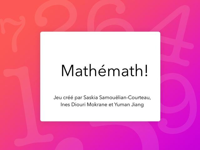 Mathémath.  by Saskia S-C