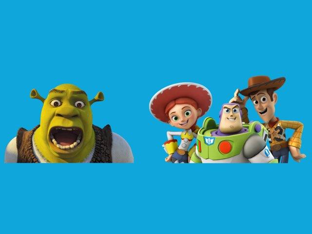Shrek Versus Toy Story by Jeannine quirk