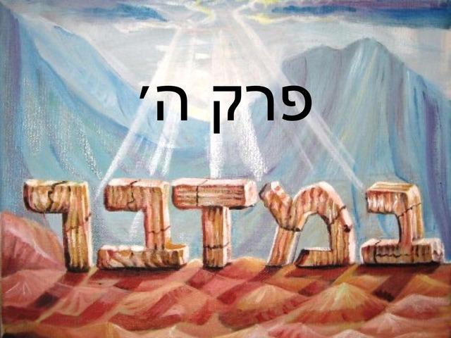 פרק ה׳ by מכללה תלפיות