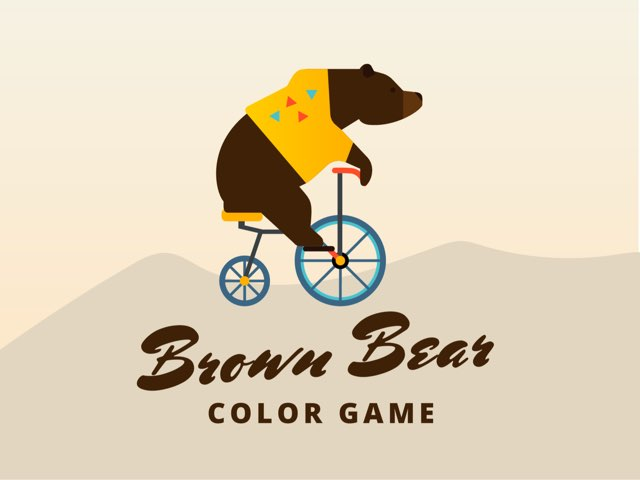 Brown Bear Color game by Shirley Rozman