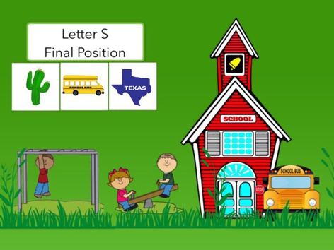 Letter S : Final Position Of Words  by Carol Smith
