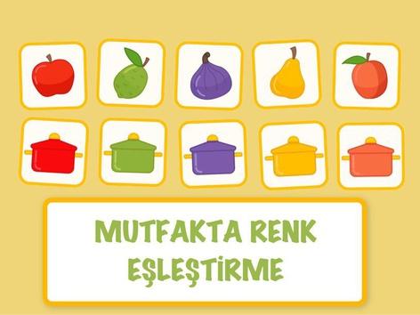 Mutfakta Renk Eşleştirme by Hadi  Oyna