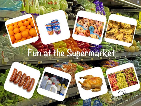 Fun At The Supermarket by Catherine Davies