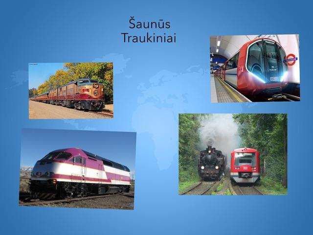 Traukiniai by Mokytoja Ilona