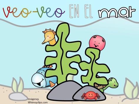 Veo-veo Animales En El Mar by Sergio Mesa Castellanos