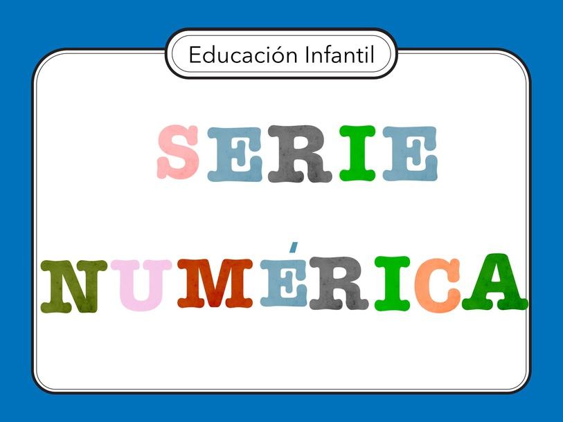 SERIE NUMÉRICA by Miguel de Cervantes