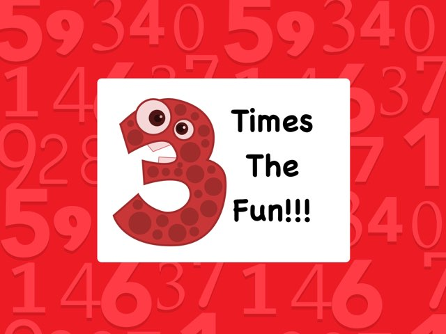 3 Times The Fun! by Ellen Weber