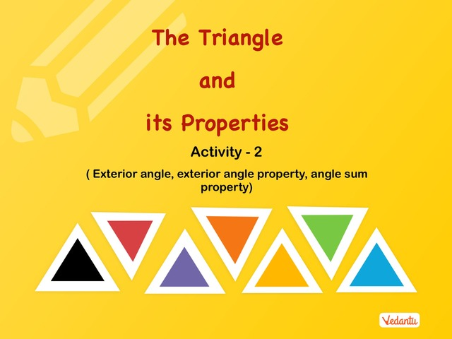 G7 The Triangles and Its Properties 2 by Manish Kumar