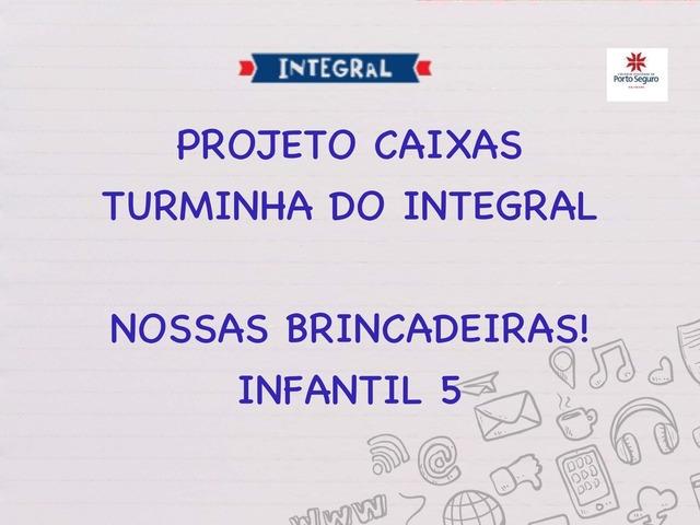 JOGO DAS BRINCADEIRAS by Te valinhos