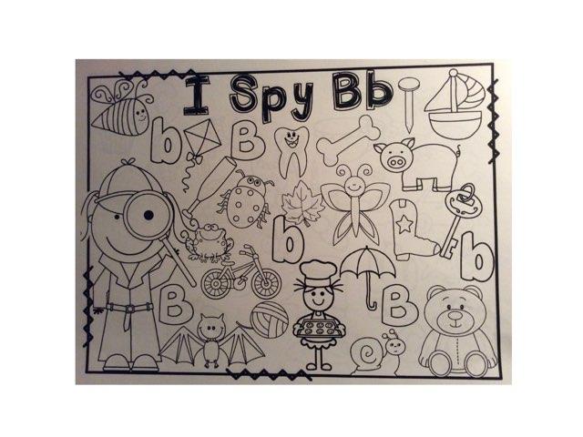 I Spy Bb by Yvonne Malone