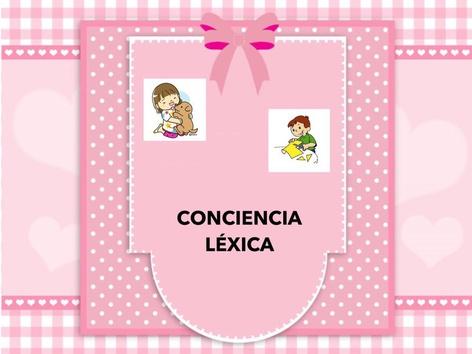Conciencia Léxica by Zoila Masaveu