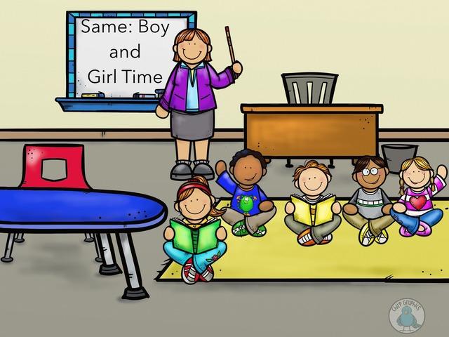 Same: Boy And Girl Time by Carol Smith