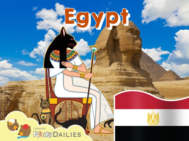 Egypt by Kids Dailies