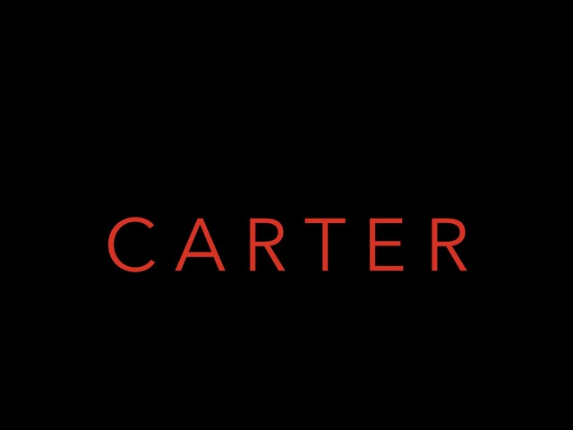 Carter's Name by Lisa Masterson