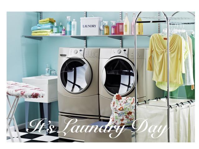 laundry day by Amanda Riker