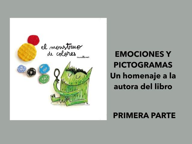 Emociones Con El Monstruo De Los Colores by Francisca Sánchez Martínez