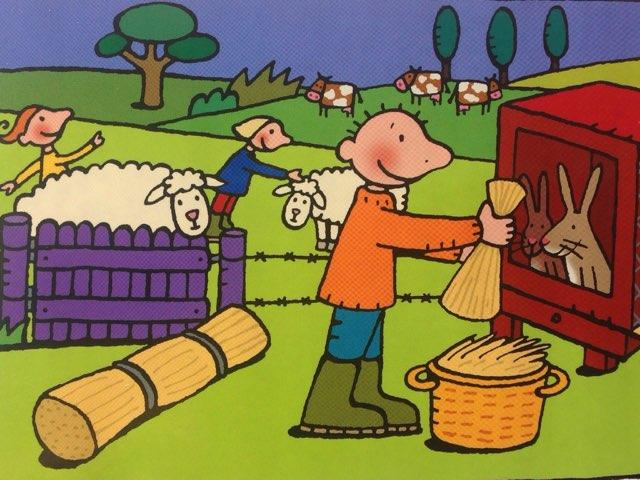 Puzzel Jules op de boerderij by Wilma DeVente