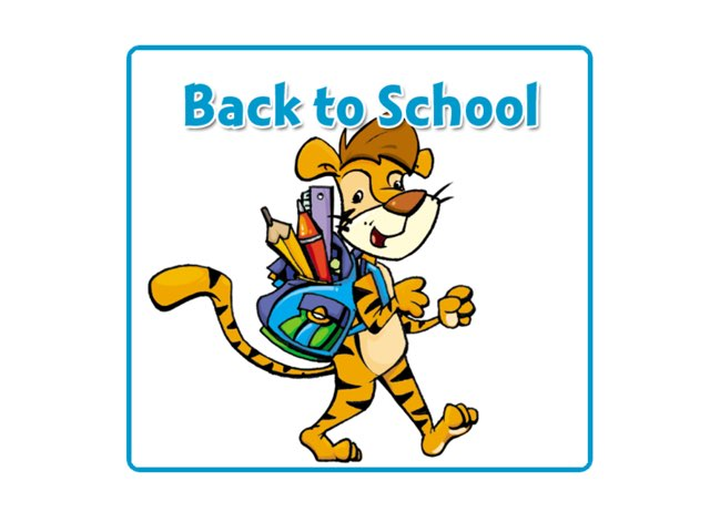 BACK TO SCHOOL GAME by Tiger Time