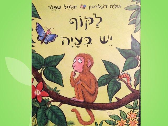 לקוף יש בעייה -  סיפור בהתאמה לחינוך המיוחד by מיירן בריקלין