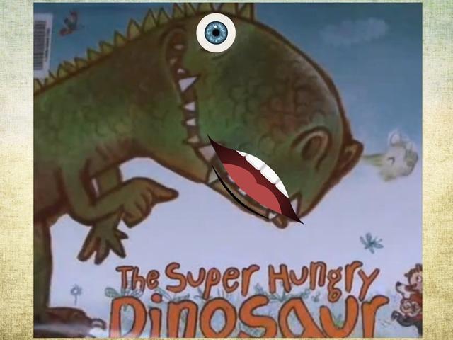 Súper Hungry Dinosaur by Brian Alejandro Gil