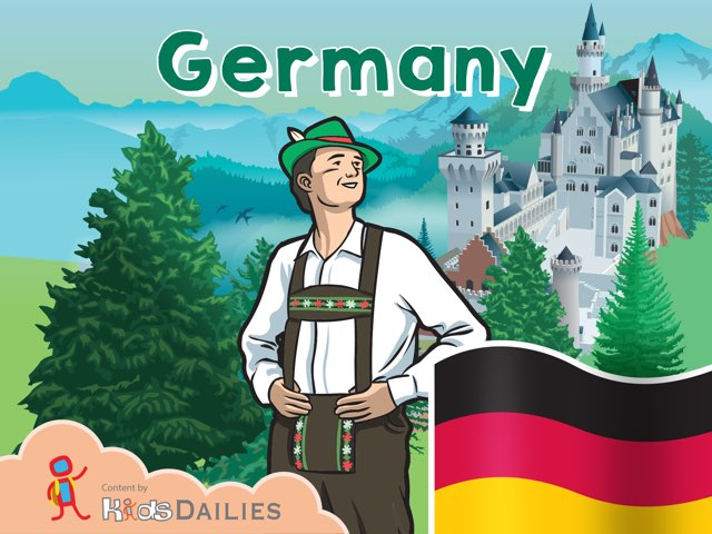 Germany by Kids Dailies