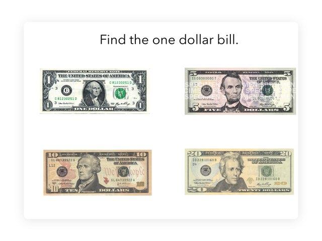 Find The Dollar Bill by Megan Drangsholt