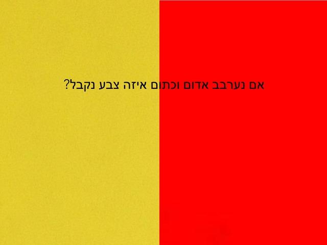 ערבוב צבעים by עמית שרבי