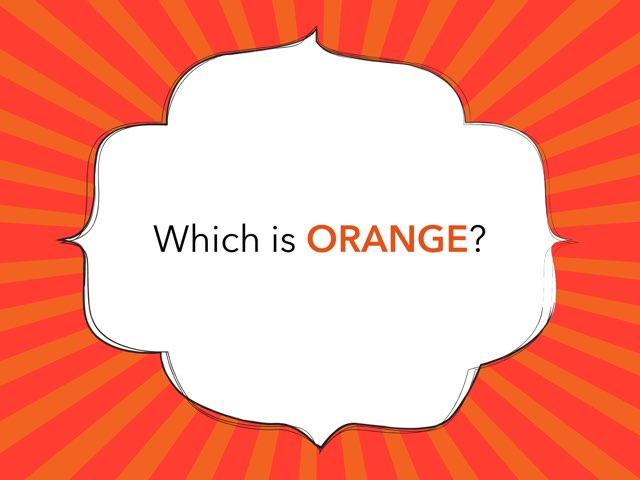Which Is Orange? by Melissa Winn