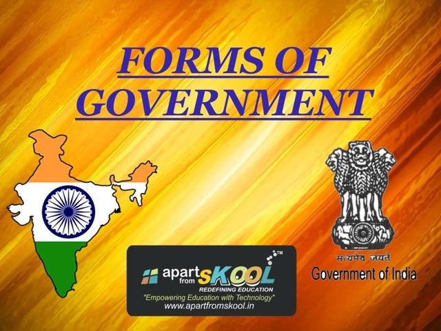Forms Of Government  by TinyTap creator