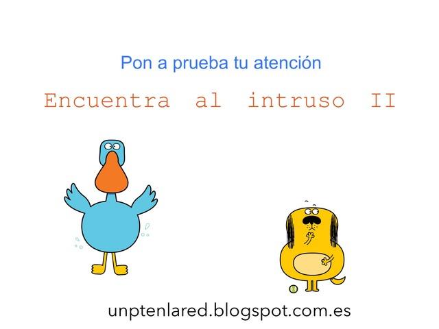 Pon a prueba tu atención. Encuentra al Intruso II. by Jose Sanchez Ureña