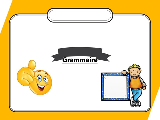Grammaire by TinyTap creator