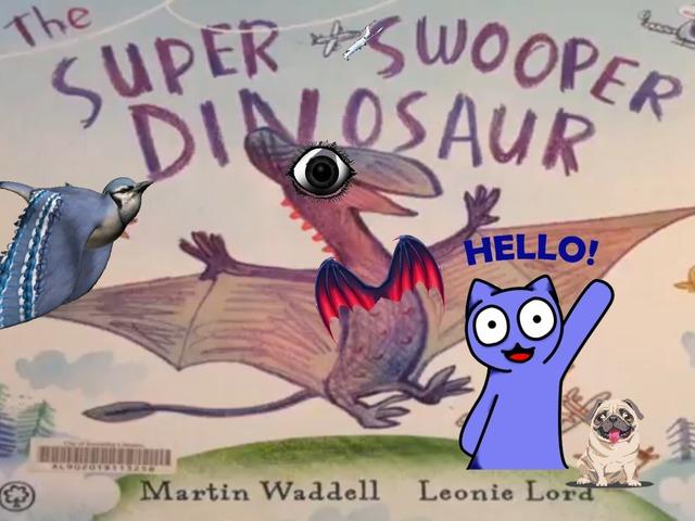 Super Swooper Dinosaur by Brian Alejandro Gil