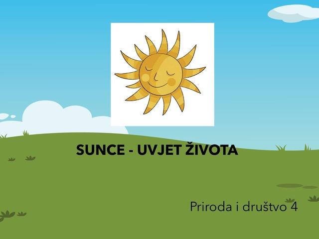 Sunce i voda- Uvjeti života by Sanja