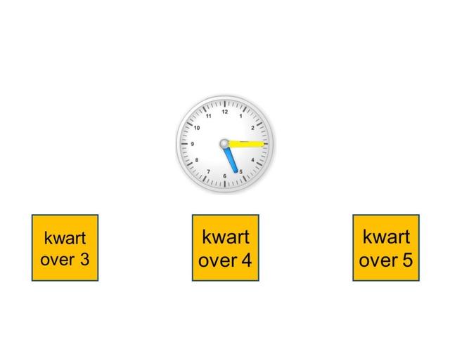 Kloklezen Tot Op Kwart (over) by Stefanie Rigolle