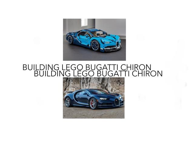 Building Lego Bugatti Chiron by AA