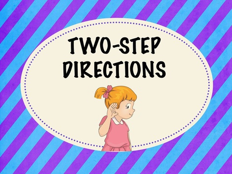 Two Step Directions by Teresa Grimes