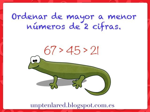 Ordenar De Mayor A Menor Números De 2 Cifras by Jose Sanchez Ureña