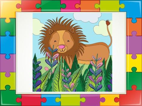 Lion Puzzle 2 by Liat Bitton-paz