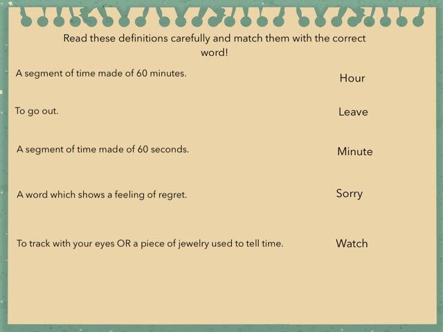 Grade 2 Vocabulary  by TJ O'Hara
